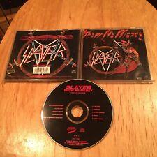 Slayer - Show No Mercy CD 1993 US reissue CRC metallica exodus megadeth sadus
