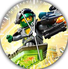 Lego Ninjago Movie Frameless Borderless Wall Clock Nice For Gifts or Decor F25