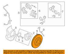 HYUNDAI OEM 10-12 Santa Fe Front Brake-Disc Rotor 517121U000