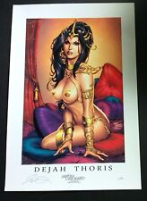 "MIKE DeBALFO SEXY DEJAH THORIS LIMITED EDITION ART PRINT SIGNED 13""X19"""