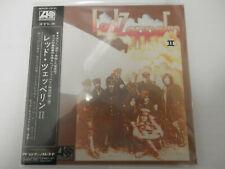"Led Zeppelin-II Japan Import Mini CD  Complete w/insert and OBI ""OOP"" SHMCD"
