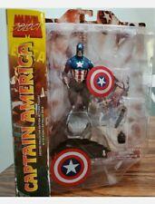 Marvel Diamond Select CAPTAIN AMERICA Action Figure Avengers