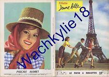 Fillette jeune fille n°792 du 21/09/1961 Patin à roulettes Pascal Audret