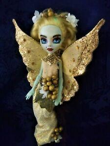 Honey an ooak monster high doll fairy butterfly custom repaint