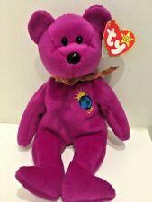 VINTAGE AS NEW & TAGS 2000 Millennium - Ty Beanie original Baby Bear