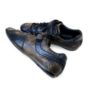 Louis Vuitton Globe Trotter Monogram Macassar Men's Sneakers Size US: 8 / EU: 41
