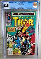 Thor #412 Marvel 1989 1st Full App New Warriors CGC 8.5 VF+ OW/WP Comic M0031