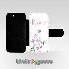 Fundas con tapa color principal rosa de piel sintética para teléfonos móviles y PDAs