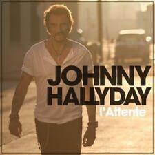 JOHNNY HALLYDAY - L'ATTENTE  CD 11 TRACKS POP INTERNATIONAL NEU