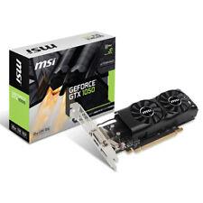 MSI GTX 1050 GDDR5 2GB PCI Express X16 Low Profile Display Port HDMI DVI-D GTX