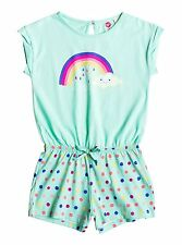 Roxy Kids Rainbow Dots Beach Romper Beach Glass Sz 5 ERLX603001