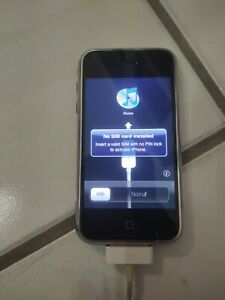Apple iPhone 1st Generation - 8GB - Black - A1203