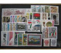 ITALIA REPUBBLICA 1976 ANNATA COMPLETA DA  38 VALORI   - NUOVI  MNH**