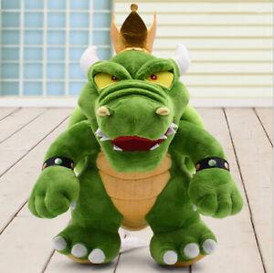 Super Mario Bros 3 Bowser King Koopa Plush Doll Stuffed Animal Toy 12 inch Gift