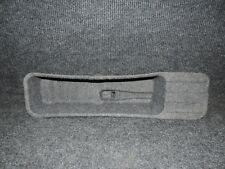 2011-2014 F150 GRAY OEM CREW CAB ONLY UNDER REAR SEAT JACK TOOLS COVER TRAY 17
