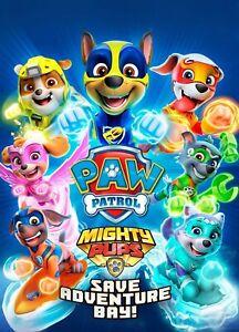 Paw Patrol Poster Paw Patrol A4 Poster Laminated