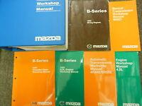 1999 Mazda B-Series Truck Service Repair Shop Workshop Manual Set W EWD + LOTS