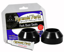 Pyramid Parts Fork Dust Boots fits Yamaha RS100 DX 79-80
