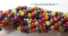 36 Inch Strand of Jewel Glass Beads 4MM