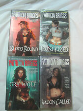 Lot of 4~Patricia Briggs Horror~Werewolves~Cry Moon Blood Kissed~LBDPA