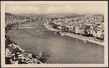 AX2546 Hungary 1955 - Budapest - Aerial view - Cartolina postale - Postcard
