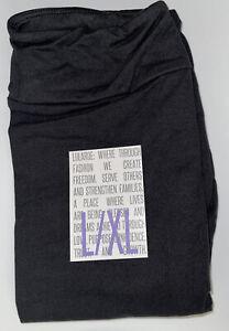 BRAND NEW LuLaRoe Kids L/XL (8-14) SOLID BLACK Leggings