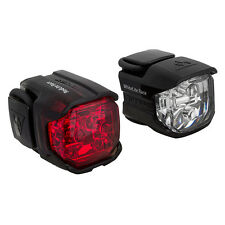 TOPEAK RACE COMBO BIKE FRONT & REAR LIGHT SET BICYCLE CYCLING SAFE LIGHT NEW