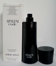 ARMANI CODE Eau De Toilette Natural Spray MEN 2.5oz by Giorgio Armani TSTR NEW