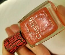 NEW! Sally Hansen CRACKLE OVERCOAT nail polish CORAL COLLIDE #10