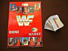 WWF, 1991, Merlin, Empty album + incomplete set of stickers (286/300)