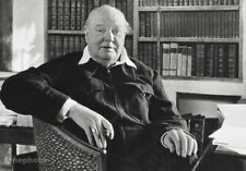 1951 Vintage Sir WINSTON CHURCHILL England By ALFRED EISENSTAEDT Photo Art 8X10