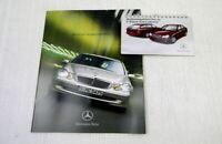 Mercedes Benz W203 C-Klasse Limousine Prospekt + Bedienungshinweise
