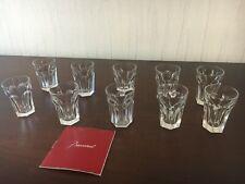 10 verres à liqueur modèle Harcourt en cristal de Baccarat (prix à la pièce)