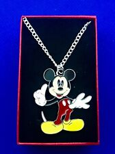 Mickey Mouse Necklace Mickey Chain Disney Charm Pendant Fast Shipping NEW
