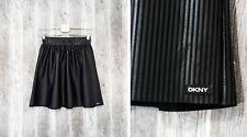 DKNY Donna Karan Womens Skirt Striped Black size S
