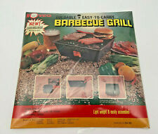 """Noveq Foldable Easy To Carry Barbecue Grill Portable 10""""x10""""x5"""" Nos"""