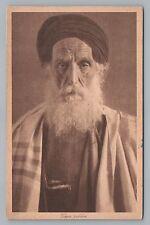 Yemenite Jew—Antique Israel Palestine Judaica—Rabbi? ca. 1910s