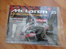 ISSUE 25 DEAGOSTINI 1/8 BUILD YOUR OWN MCLAREN MP4/23 LEWIS HAMILTON 2008 F1 CAR