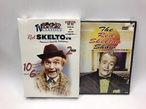 Lot of 2 RED SKELTON DVDs America's Favorite Funnyman Box Set & Red Skelton Show
