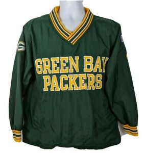 Champion Pro Line NFL Green Bay Packers Pullover Vintage 90s Jacket Mens Size L