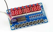 Digitales LED Display 8-Tasten Modul Button Board Input output 8-Bit TM1638