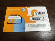 AT&T Mini Sim Card