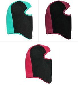 Grand Sierra Youth Girls Fleece Balaclava, Winter Hat Face Mask, Ages 4-6