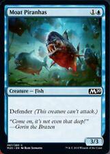 *MtG: 4x Moat Piranhas - Core Set Magic 2020 Common - magicman-europe*