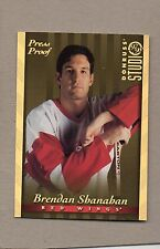 brendan shanahan detroit red wings 1997/98 donruss studio gold press proof 6