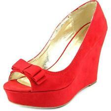 Calzado de mujer MaterialGirl color principal rojo sintético