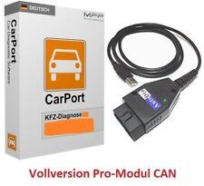 CarPort Diagnosegerät Interface + Software Pro-Modul CAN Audi VW Skoda Seat