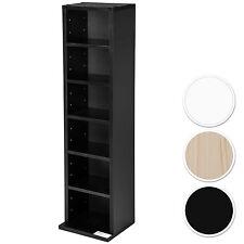 Étagère rangement CD / DVD meuble de rangement pour 102 CDs média unité