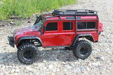 Traxxas 82056-4 TRX-4 Rojo Crawler Land Rover Defender 1:10 Rtr