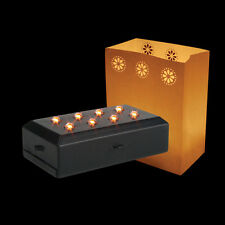 LED Luminary Light Candle Effect Outdoor Fire Safe Party Pumpkin Decoration